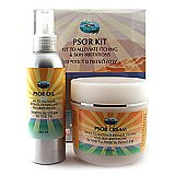Treatment kit for psoriasis and skin redness Global Mineral