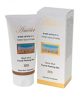 Facial Peeling Gel Black Mud Shemen Amour