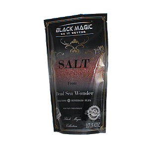 Dead Sea Salt Black Magic