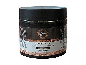 Argan Oil Hair Mask For Damaged Hair Moroccan Spa